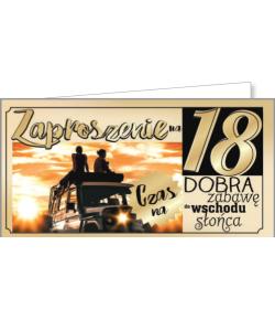 Zaproszenie na 18-tkę ZAB44