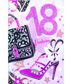 Na 18 urodziny kartka z...