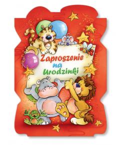 Zaproszenie na urodzinki ZA 72