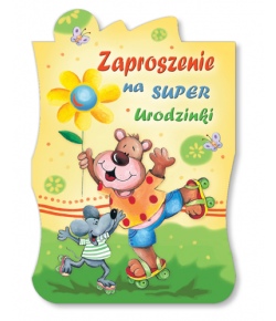 Zaproszenie na urodzinki ZA 73