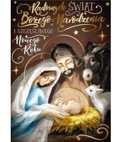 Kartka Święta Rodzina z...