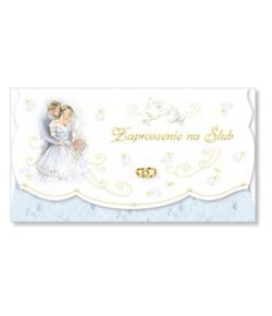 Zaproszenie na ślub ZS 9