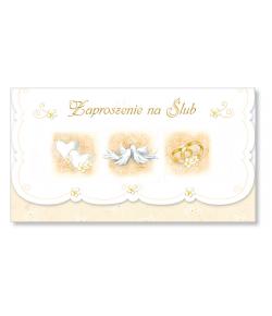 Zaproszenie na ślub ZS 1