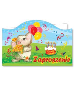 Zaproszenie na urodzinki ZA 29