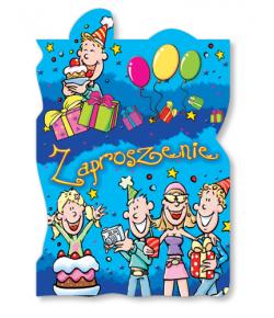 Zaproszenie na urodzinki ZA 36