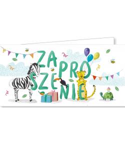 Zaproszenia na urodzinki ZAB85