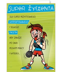 Kartka dla chłopaka Comic 22
