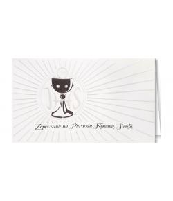 Zaproszenie komunijne JM 5514A