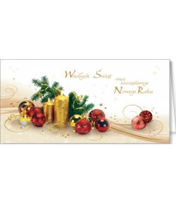 Stroik świąteczny kartka...