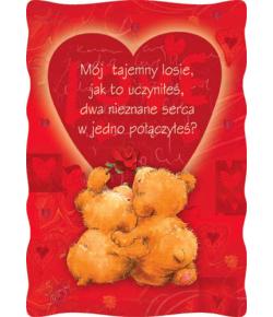 Kartki na Walentynki PVL 9
