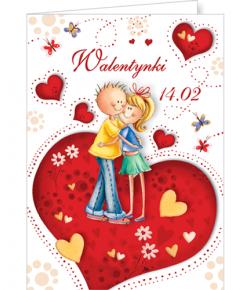 Kartka na  Walentynki  VL 25