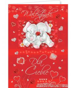 Kartka na  Walentynki  VL 02