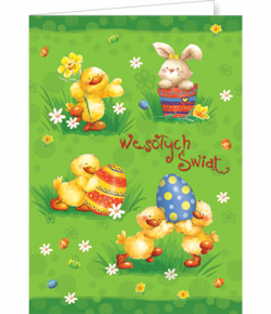 Karnet na Wielkanoc bez...
