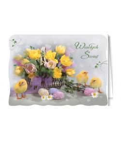Kartka na Wielkanoc  BW-BT 44